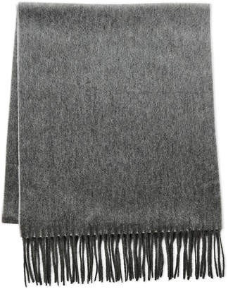 Qi Double Faced Fringe Scarf