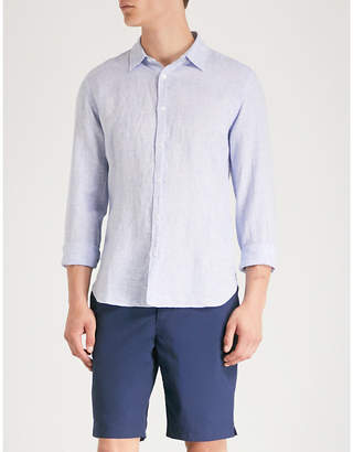 Orlebar Brown Morton tailored-fit linen shirt