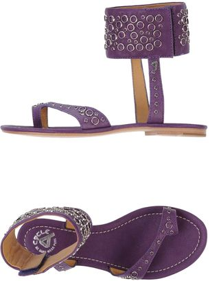 CYCLE Toe strap sandals $159 thestylecure.com