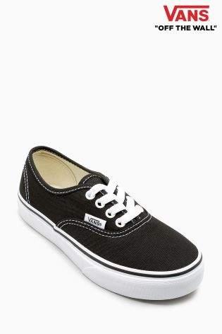 Boys Vans Authentic - Black