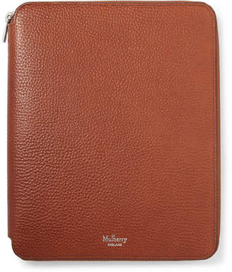 Mulberry A5 Zip-Around Full-Grain Leather Notebook Cover