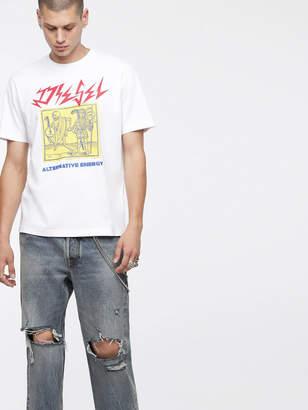 Diesel T-Shirts 0BASU - White - S