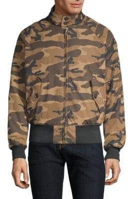 Baracuta G9 Slim-Fit Reversible Camouflage Jacket