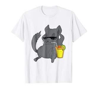 Chinchillin T-Shirt Funny Chinchilla Shirt Animal Pet Gift