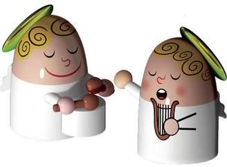 Alessi 2 Piece Angels Band Figurine Set