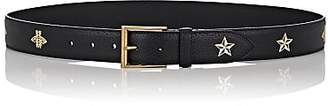Gucci Men's Bee & Star Leather Belt - Black