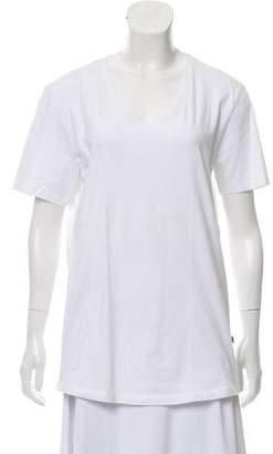 J. Lindeberg Short Sleeve Scoop-Neck T-Shirt