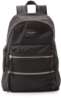 Marc Jacobs Packrat Nylon BIker Backpack, Black $195 thestylecure.com