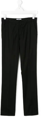 MSGM Teen tailored trousers