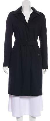 Akris Punto Long Trench Coat