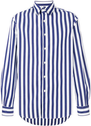 Aspesi wide striped shirt