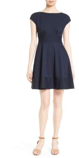 Women's Kate Spade New York Ponte Fiorella Fit & Flare Dress