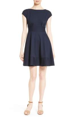 Kate Spade Ponte Fiorella Fit & Flare Dress