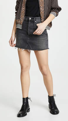 A Gold E AGOLDE Quinn Miniskirt