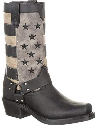 Durango Women's Flag Harness Boot Motorcycle