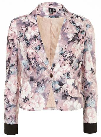 Dorothy Perkins Pink floral blazer