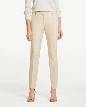 Ann Taylor The Petite Ankle Pant In Dense Twill - Curvy Fit