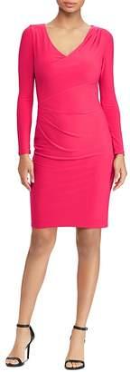 Lauren Ralph Lauren Draped Jersey Dress