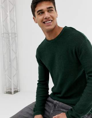 ONLY & SONS Fine Gauge Textured Knitted Sweater