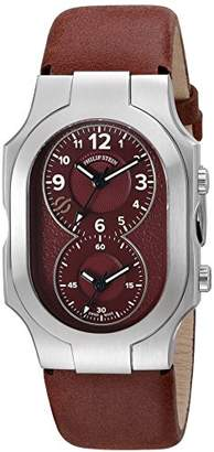 Philip Stein Teslar Unisex 200-WLBG-CVMN Swiss Signature Analog Display Swiss Quartz Red Watch