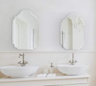 Pottery Barn Scarlett Monogram Wall Mirror