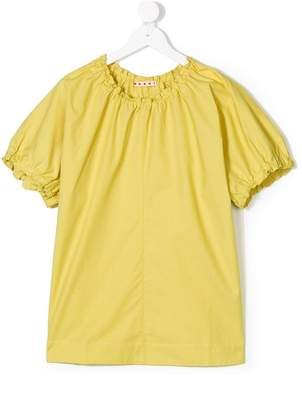 Marni elasticated detail blouse