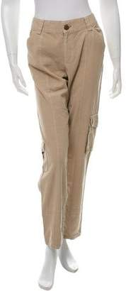 Burning Torch High-Rise Straight-Leg Pants w/ Tags