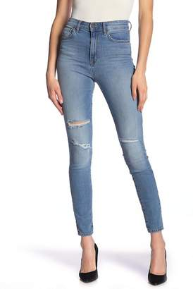 William Rast High Waist Skinny Jeans
