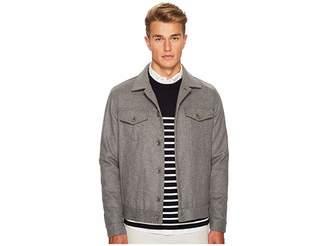 Eleventy Flannel Denim Style Jacket Men's Coat