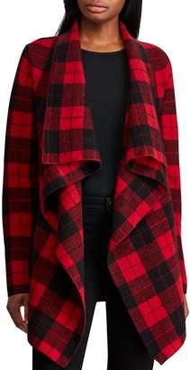 Ralph Lauren Buffalo Check Wool Cardigan