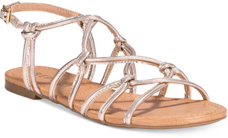 Report Gail Strappy Flat Sandals $39 thestylecure.com