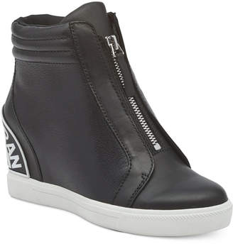 DKNY Connie Slip-On Wedge Sneakers