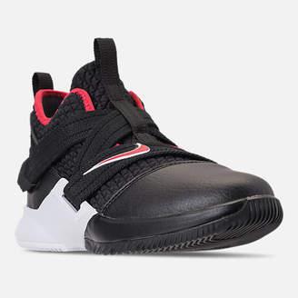 Nike Boys' Preschool LeBron Soldier 12 Basketball Shoes