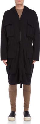 Thom/Krom Hooded Knit Jacket
