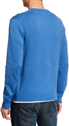 Michael Kors Men's V-Neck Long-Sleeve Sweater