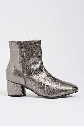 GIOSEPPO Metallic Leather Booties