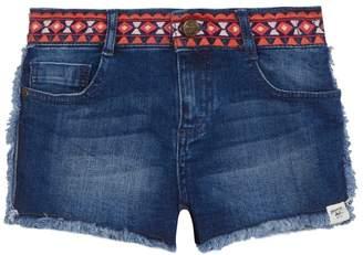 Mantaray 'Girls' Blue Denim Shorts