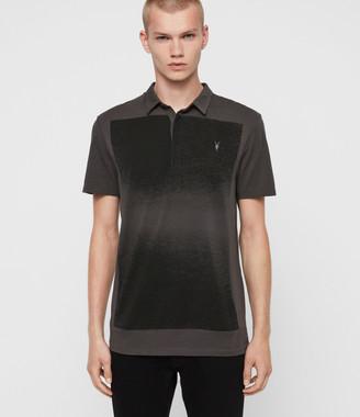 AllSaints Rufus Short Sleeve Polo Shirt