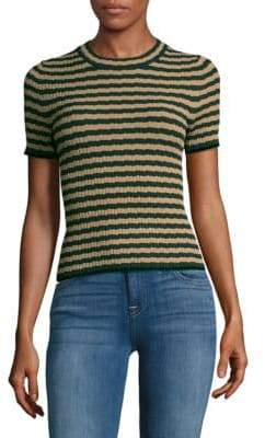Ronny Kobo Quatara Striped Top