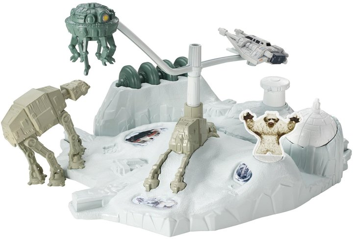 Hot Wheels Star Wars Starship Hoth Trackset
