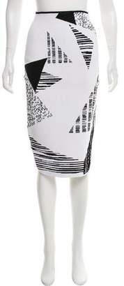 Roland Mouret Knit Knee-Length Skirt