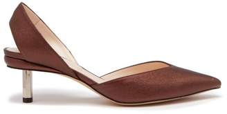 Nicholas Kirkwood Polly Slingback Leather Pumps - Womens - Bronze