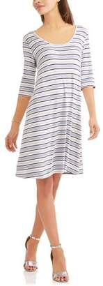 Laundry by Shelli Segal French Women's Cut Out Back Detail Dress