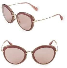 Miu Miu 54MM Butterfly Sunglasses