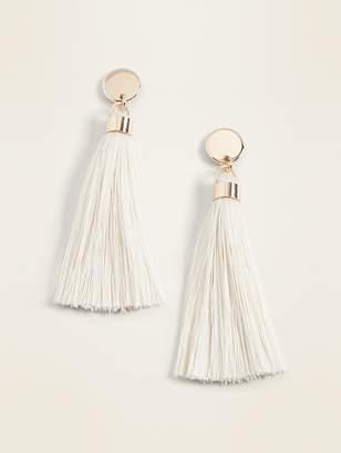 Old Navy Tassel Drop Earrings for Women