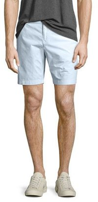 Burberry Tailored Cotton Chino Shorts, Pale Opal Blue $195 thestylecure.com