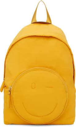 Anya Hindmarch Yellow Chubby Wink Backpack