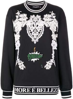 Dolce & Gabbana queen sweatshirt