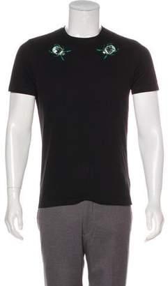 Markus Lupfer Sequence Embellished Short T-shirt