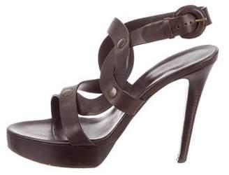 Walter Steiger Crossover Platform Sandals